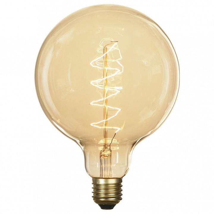 Лампа накаливания Lussole Edisson E27 60Вт 2800K GF-E-760 | интернет-магазин SHOWROOMS