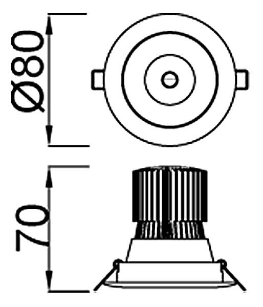 Встраиваемый светильник Mantra Formentera C0075 | интернет-магазин SHOWROOMS