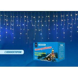 Бахрома световая [3x0.7 м] Uniel ULD-B3010 ULD-B3010-200/TTK WARMWHITE-WHITE IP44 | интернет-магазин SHOWROOMS