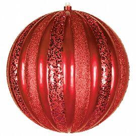 Елочный шар [25 см] Арбуз 502-082   интернет-магазин SHOWROOMS
