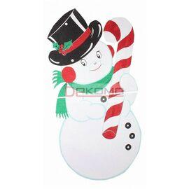 Снеговик (90x175 см) в шляпе 502-394 | интернет-магазин SHOWROOMS