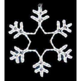 Панно световое (55x55 см) Снежинка NN-501 501-334   интернет-магазин SHOWROOMS