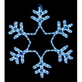 Панно световое [60x60 см] Снежинка NN-501 501-335   интернет-магазин SHOWROOMS