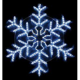 Панно световое (95x95 см) Снежинка NN-501 501-338   интернет-магазин SHOWROOMS