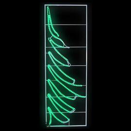 Панно световое (0.68х2 м) Елочка 501-352   интернет-магазин SHOWROOMS