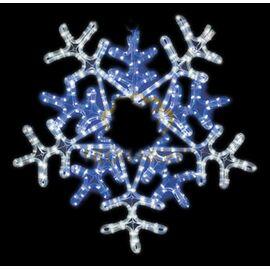 Панно световое [60x60 см] Снежинка NN-501 501-531   интернет-магазин SHOWROOMS