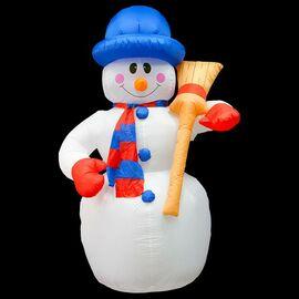 Снеговик световой (1.8 м) NN-511 511-122 | интернет-магазин SHOWROOMS