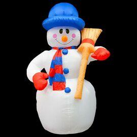Снеговик световой (2.4 м) NN-511 511-123 | интернет-магазин SHOWROOMS