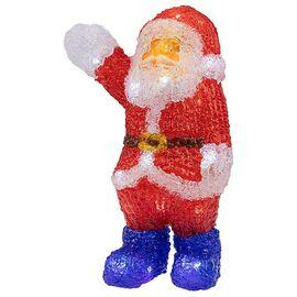Дед Мороз световой (30 см) Санта Клаус приветствует 513-273 | интернет-магазин SHOWROOMS