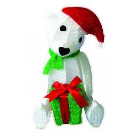 Зверь световой (51 см) Медвежонок с подарком 514-268 | интернет-магазин SHOWROOMS