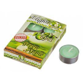 Набор из 6 свечей ароматических (4x2 см) Зеленое яблоко 348-478 | интернет-магазин SHOWROOMS