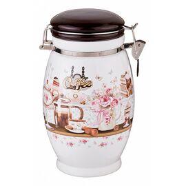 Банка для пищевых продуктов (20 см) Coffee 358-1325 | интернет-магазин SHOWROOMS